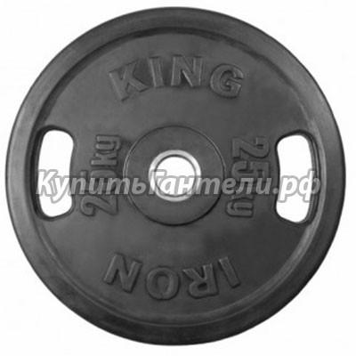 Блин обрезиненный Евро-Классик 50 кг (d51)